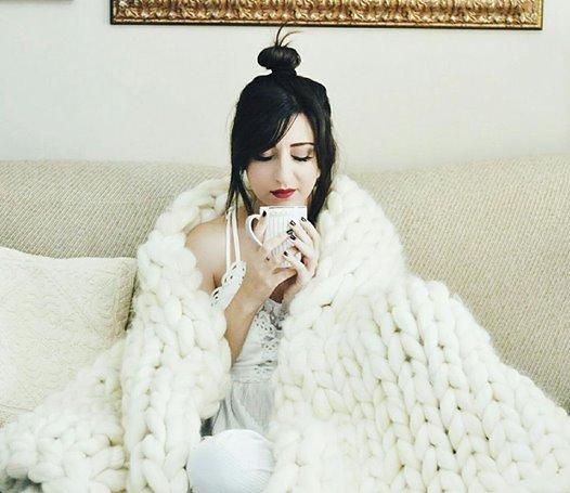 coperta di lana gigante